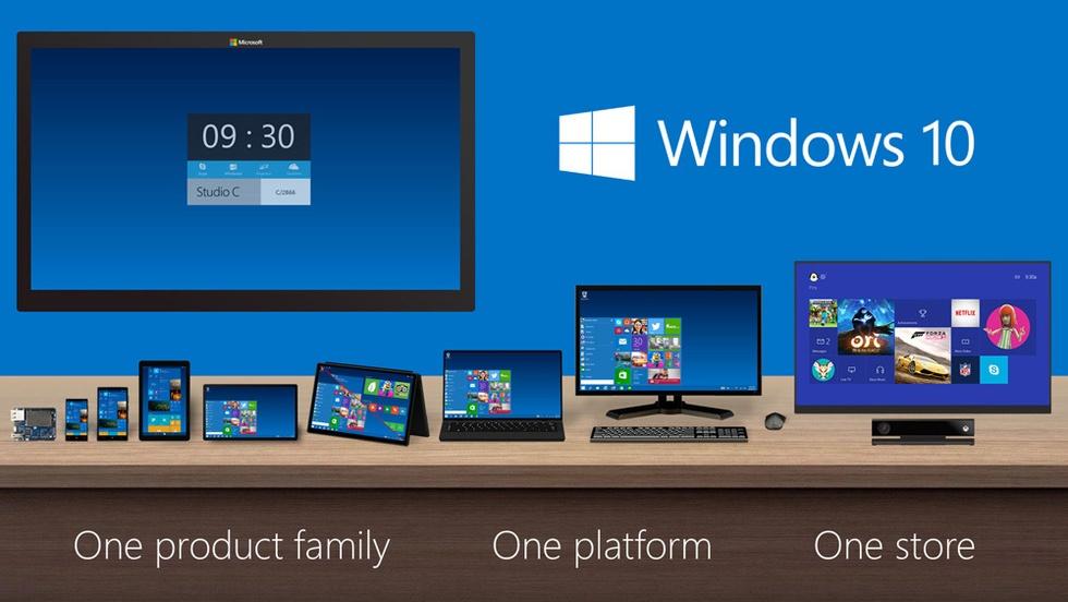 One Windows Windows 10