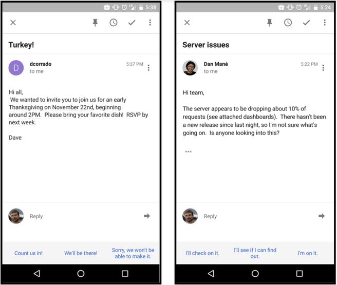 Inbox Gmail Antwoorden