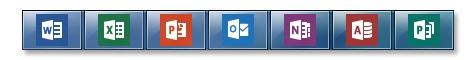 Office 2013 - iconen