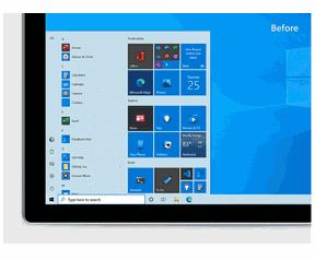 Windows 10 Uniform Start Menu 20H2