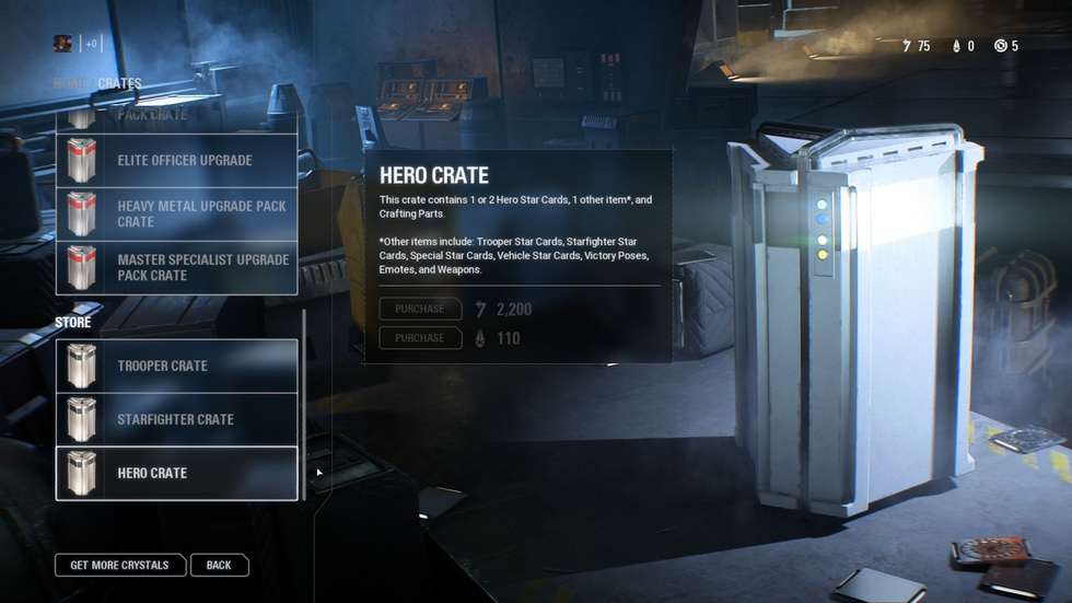 Lootbox in Star Wars Battlefront II