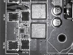 CPU VRM fases bovenzijde 1