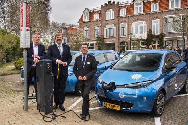 Renault bidrectioneel laden, bron: Renault