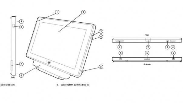 Tekeningen PalmPad