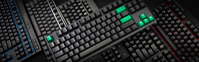 OFNMD Gaming Mechanical Keyboard,Black Switch Green Backlight Retro Plating Punk Keycaps Multimedia USB Wired Game Keyboard for PC Laptop//Computer QWERTY Key