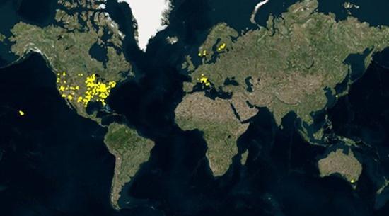 Bing Maps bird's eye-toevoegingen