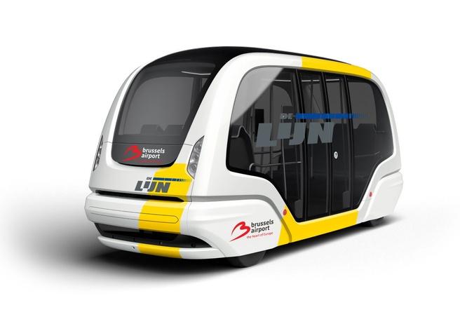De Lijn autonome shuttle