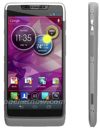 Motorola Android-smartphone met Medfield-soc (bron: PocketNow)