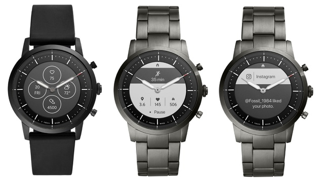 Fossil Diana smartwatches
