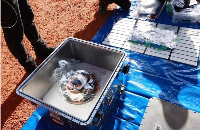 Hayabusa 2 container