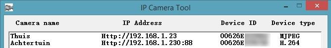 Ebode IP Camera Tool