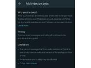 WhatsApp Multi-Device-bèta