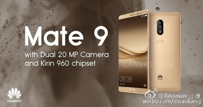 Mate 8 als Mate 9 Huawei