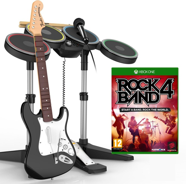 Rock Band 4: Band-in-a-Box, Xbox One