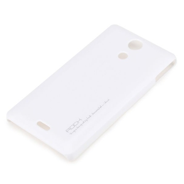 Rock Rock Hard Shell Cover Sony Xperia ZR (white)