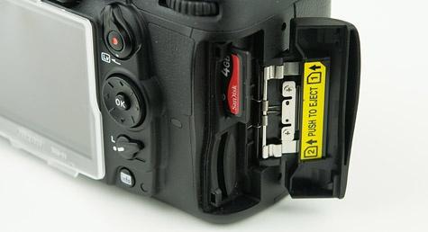 Nikon D7000 dual-sd-slots
