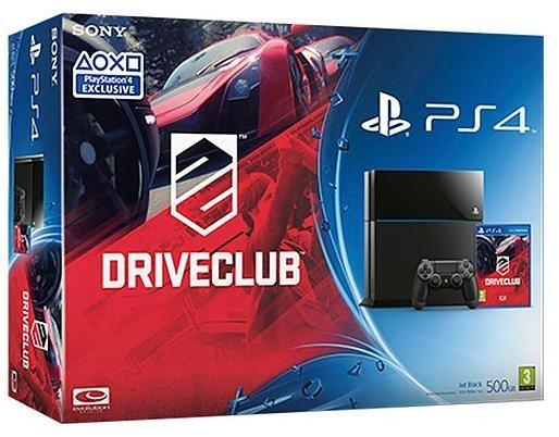 Sony PlayStation + Driveclub Zwart