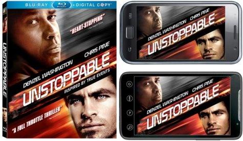 Unstoppable blu-ray digital copy