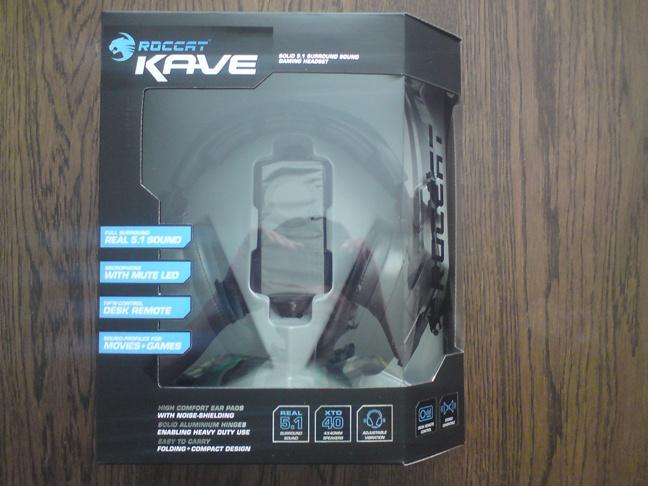 Roccat Kave - 1 - Doos front