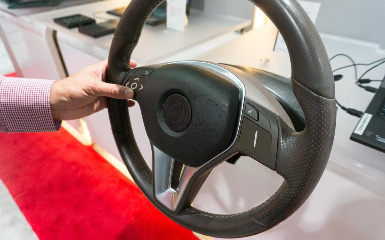 Synaptics touchtechnieken voor auto's CES 2016