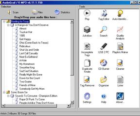 AudioGrail 6.11.1.150 - 658px