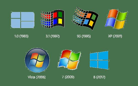Windows logo's