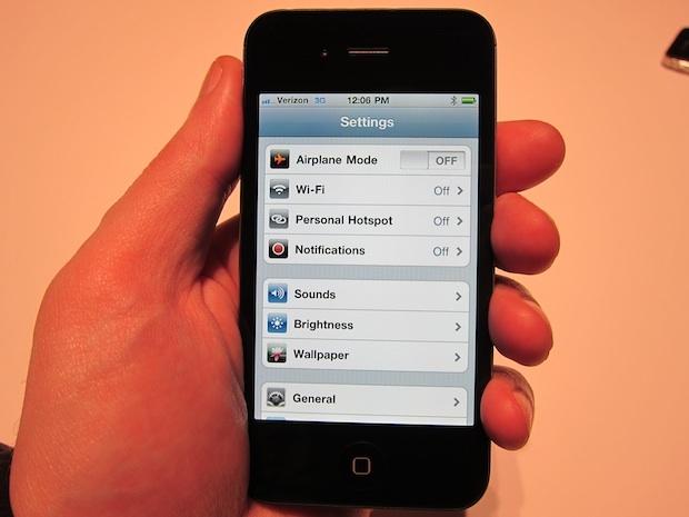 Personal Hotspot op iPhone 4