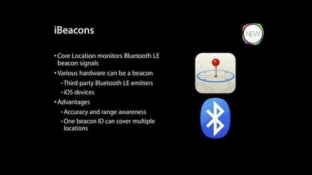 Apple iBeacons