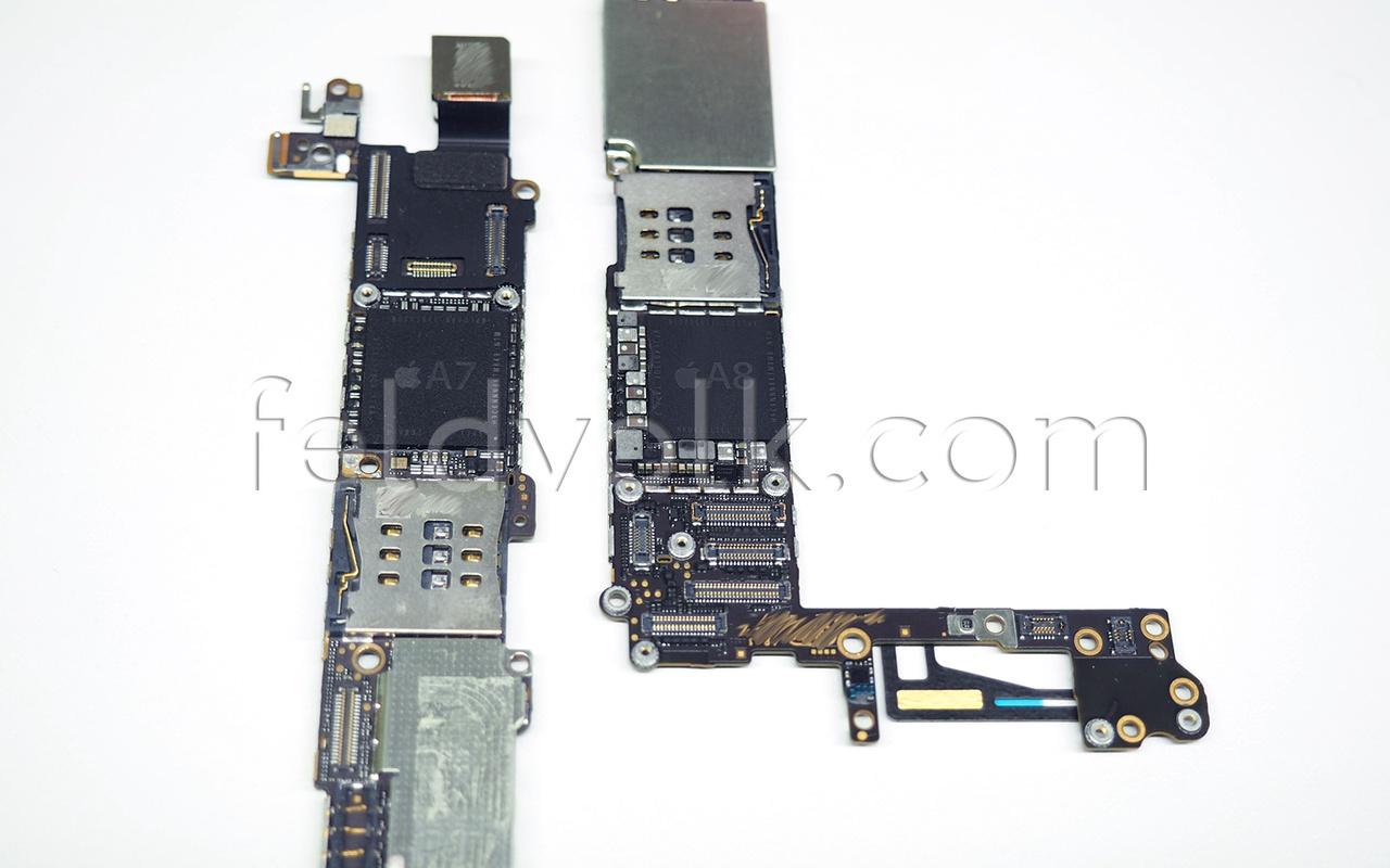 Vermoedelijk moederbord iPhone 6