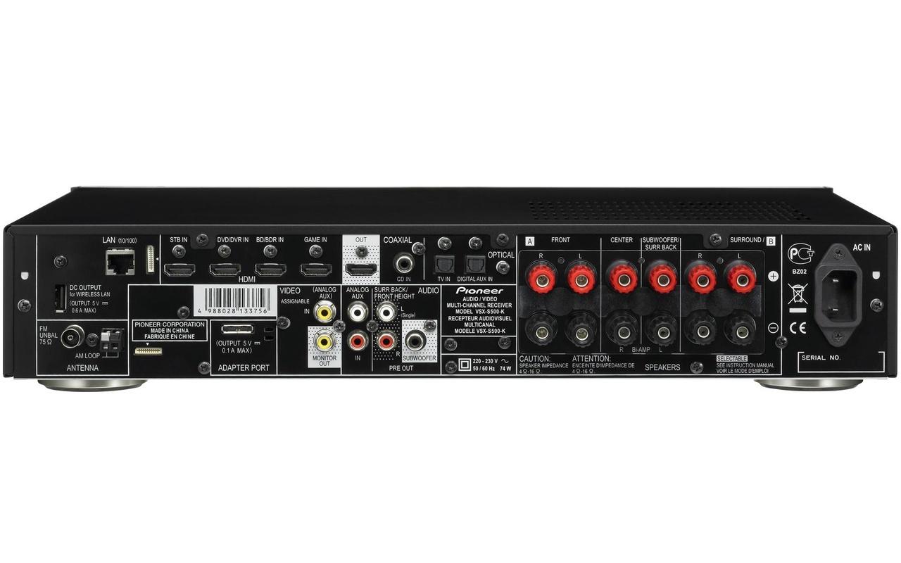 Pioneer | VSX-S500