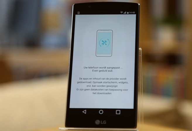T-Mobile providerupdate op LG G4