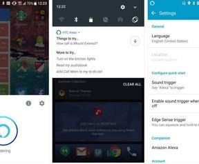 Alexa op HTC U11