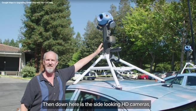 Nieuwe Street View-hardware