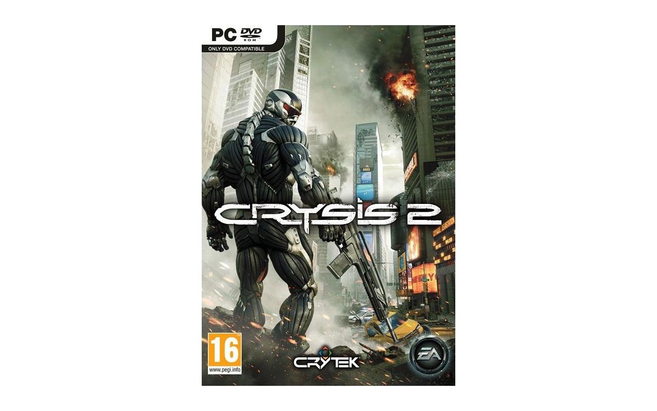 Packshot voor Crysis 2