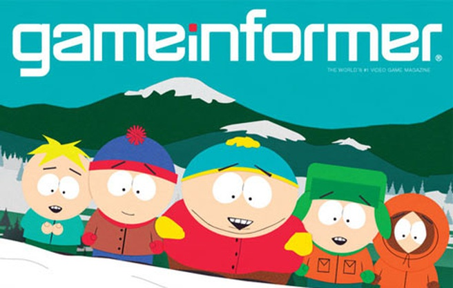 South Park: The Game in Game Informer