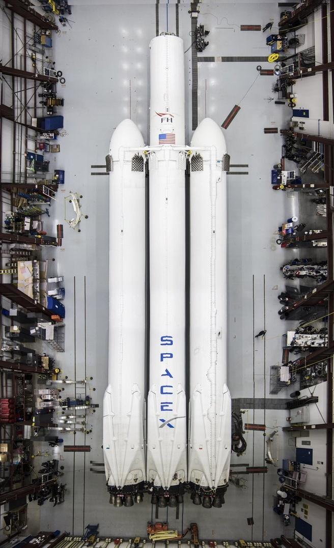 Falcon Heavy op Cape Canaveral