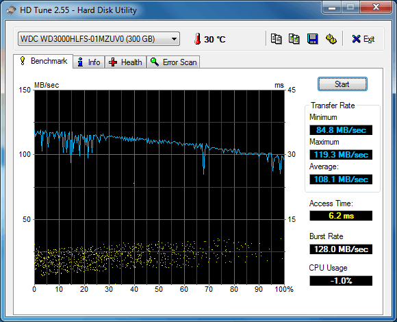 WD 300 GB Velociraptor