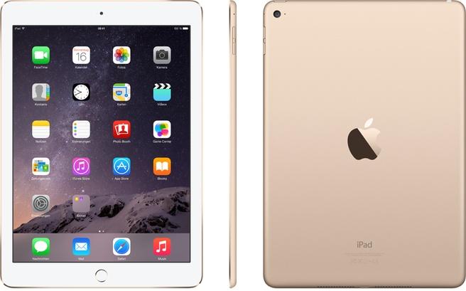 Apple iPad Air 2 WiFi 128GB Goud