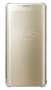 Samsung Clear View Cover Galaxy S6 edge Plus - EF-ZG928CF - Gold