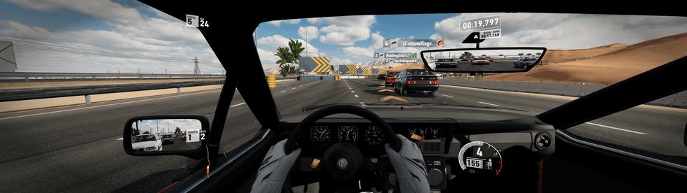 Forza Motorsport 7 op een 32:9-monitor
