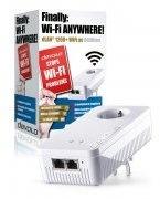 Devolo dLAN 1200+ WiFi ac Powerline WiFi enkele adapter 1200 Mbit/s