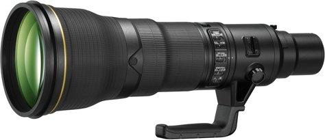 Nikon 800mm objectief f/5.6