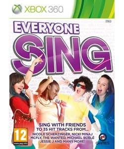 Everyone Sing, Xbox 360