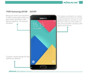 Nillkin DisplayFolio Glass H+ Pro voor Samsung Galaxy A5 (2016)