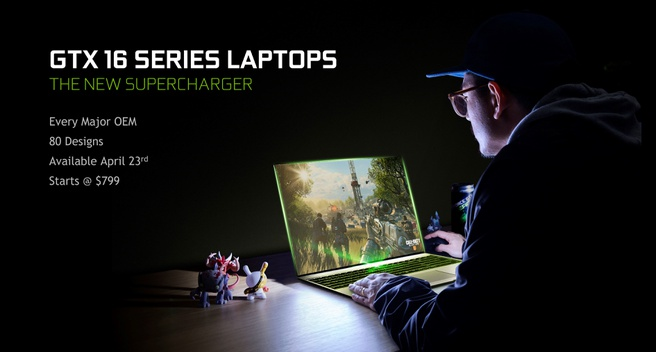 GTX 16-series in laptops