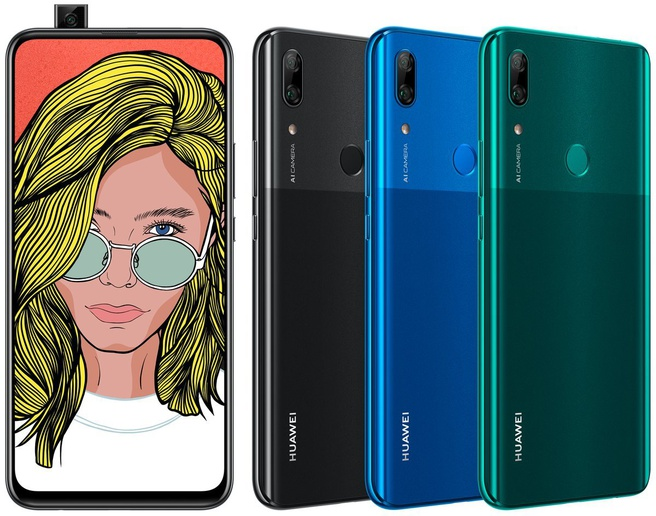 Huawei P Smart Z Bron: @evleaks