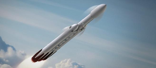 Falcon Heavy concept