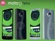 Render vermoedelijke Moto G6 Plus