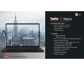 Lenovo ThinkPads 2020