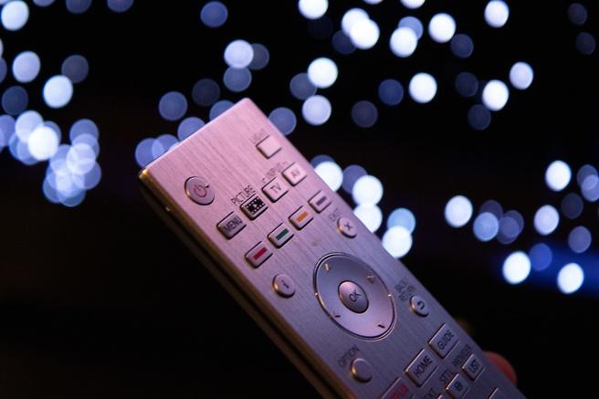 Filmmaker Mode-knop op de afstandsbediening